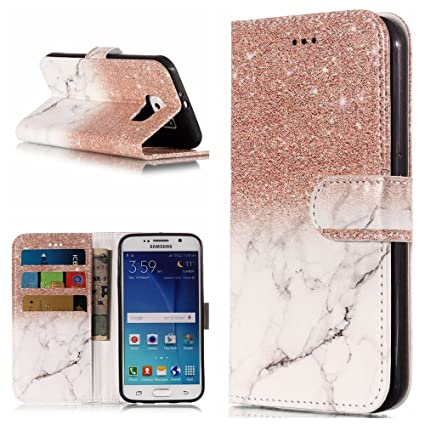 d72deef298db Amazon.com: Find box Galaxy S6 Edge Case, Premium Flip Leather PU ...
