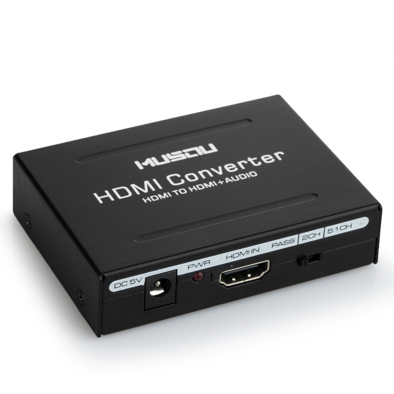 L/R Musou HDMI Audio Extractor V1.4,HDMI to HDMI Optical Toslink + ...