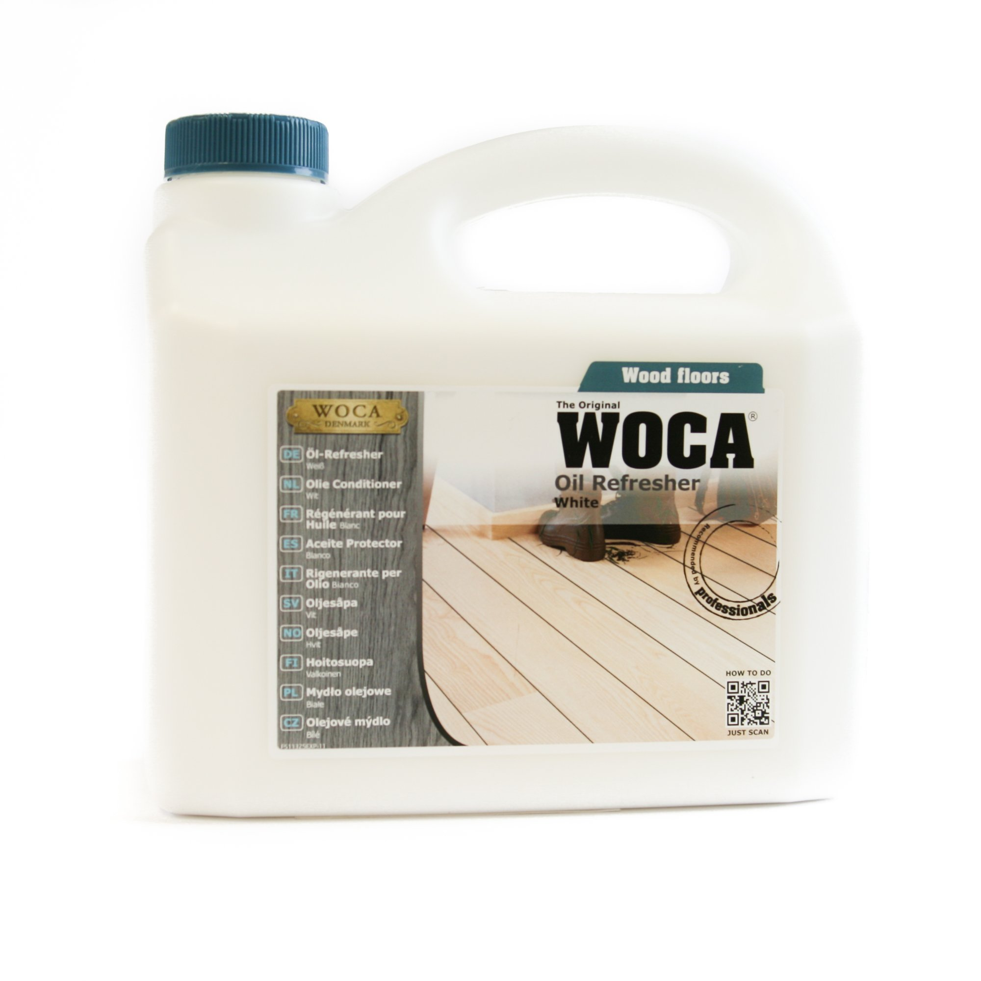 Woca Denmark- Oil Refresher 2.5 Liters (White) by WOCA