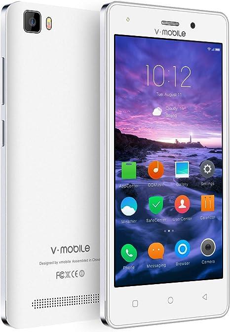Smartphone Baratos Libres 4G ,vmobile A10 8GB (Pantalla 5.0