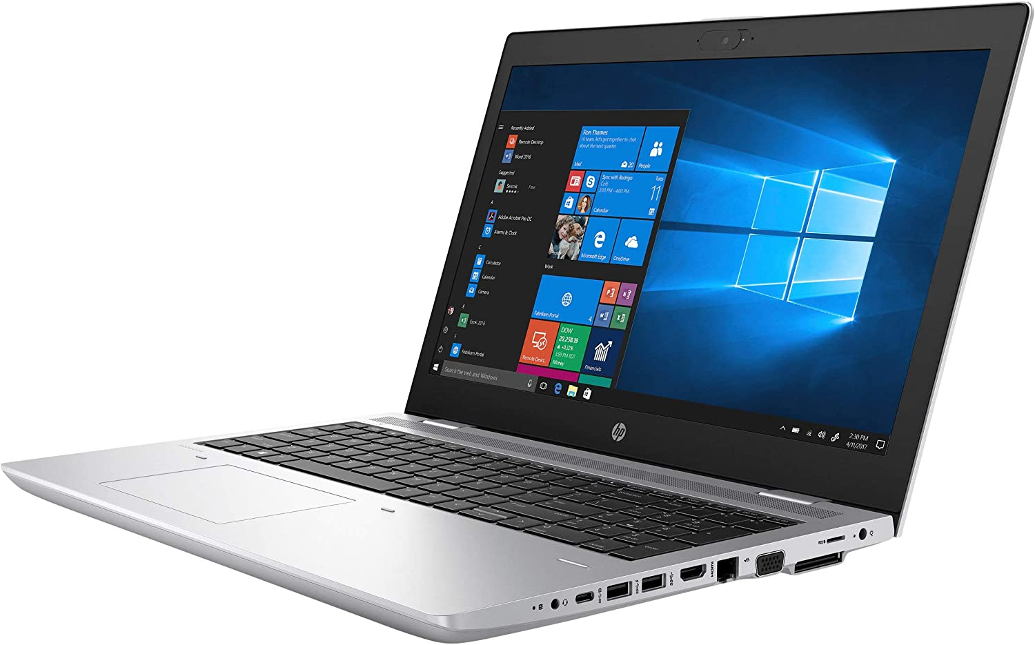 "HP 3XJ66UT#ABA Probook 640 G4 14"" Notebook - Windows - Intel Core i5 1.7 GHz - 8 GB RAM - 256 GB SSD - Natural Silver"