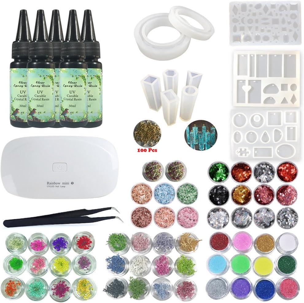 UV Epoxy Resin Art Making Kit