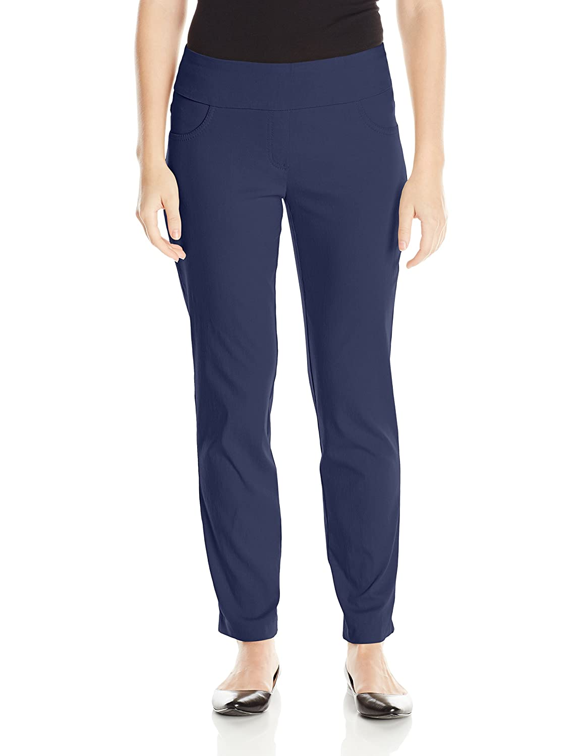 Ruby Rd. Women's Petite Pull-On Solar Millennium Super Stretch Pant Ruby Rd. Child Code 14790XR