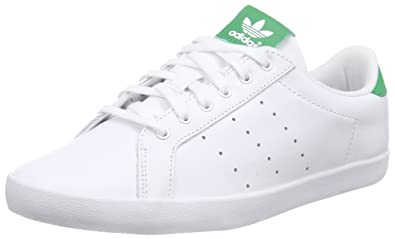 online store f5e24 942bb adidas Miss Stan, Women s Trainers, White Green, 4.5 UK (37.5 EU