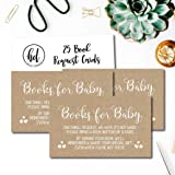 25 Rustic Kraft Books For Baby Request Insert