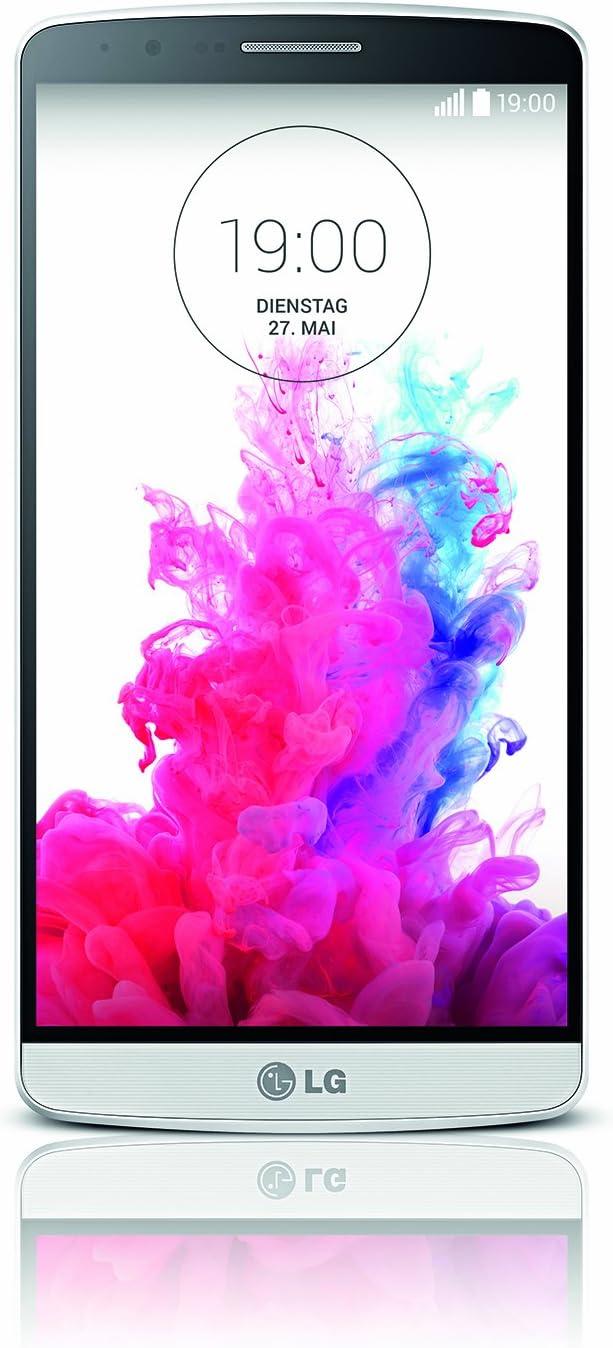 LG G3 D855 - Smartphone libre Android (Pantalla 5.5inch, Cámara 13 Mp, 32 GB, Quad-Core 2.5 GHz, 3 GB RAM), Blanco (Importado): Amazon.es: Electrónica