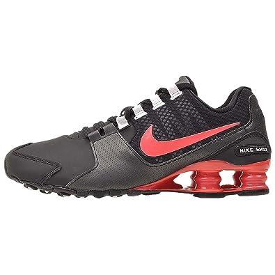 newest b3ed0 03c9b NIKE Womens Shox Avenue SE Running Shoes-Black/Emberglow-White (11 B