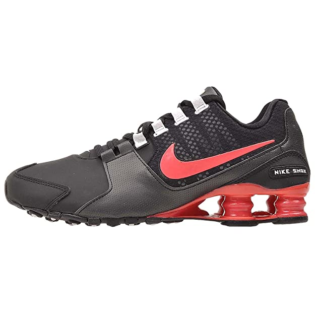 quality design b85f3 88d72 Amazon.com   NIKE Womens Shox Avenue SE Running Shoes-Black Emberglow-White  (11 B(M) US, Black Ember Glow- White)   Road Running