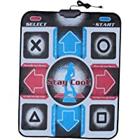 Generic USB Tapete de Dança Pad, Electronic Musical Playmat Brinquedos PC USB Dança Mat, Tapete de Dança Cobertor para…