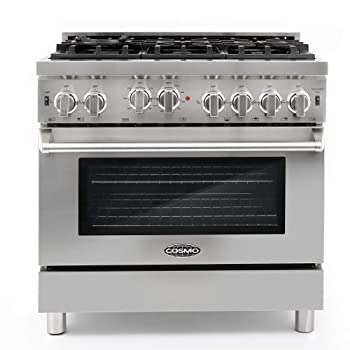Cosmo GRP366 36-inch Gas Range