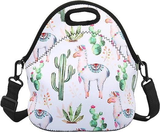 Llama Zipper Project Bag