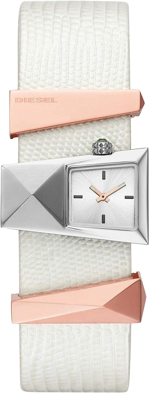 Diesel Reloj Analógico para Mujer de Cuarzo con Correa en Cuero DZ5585