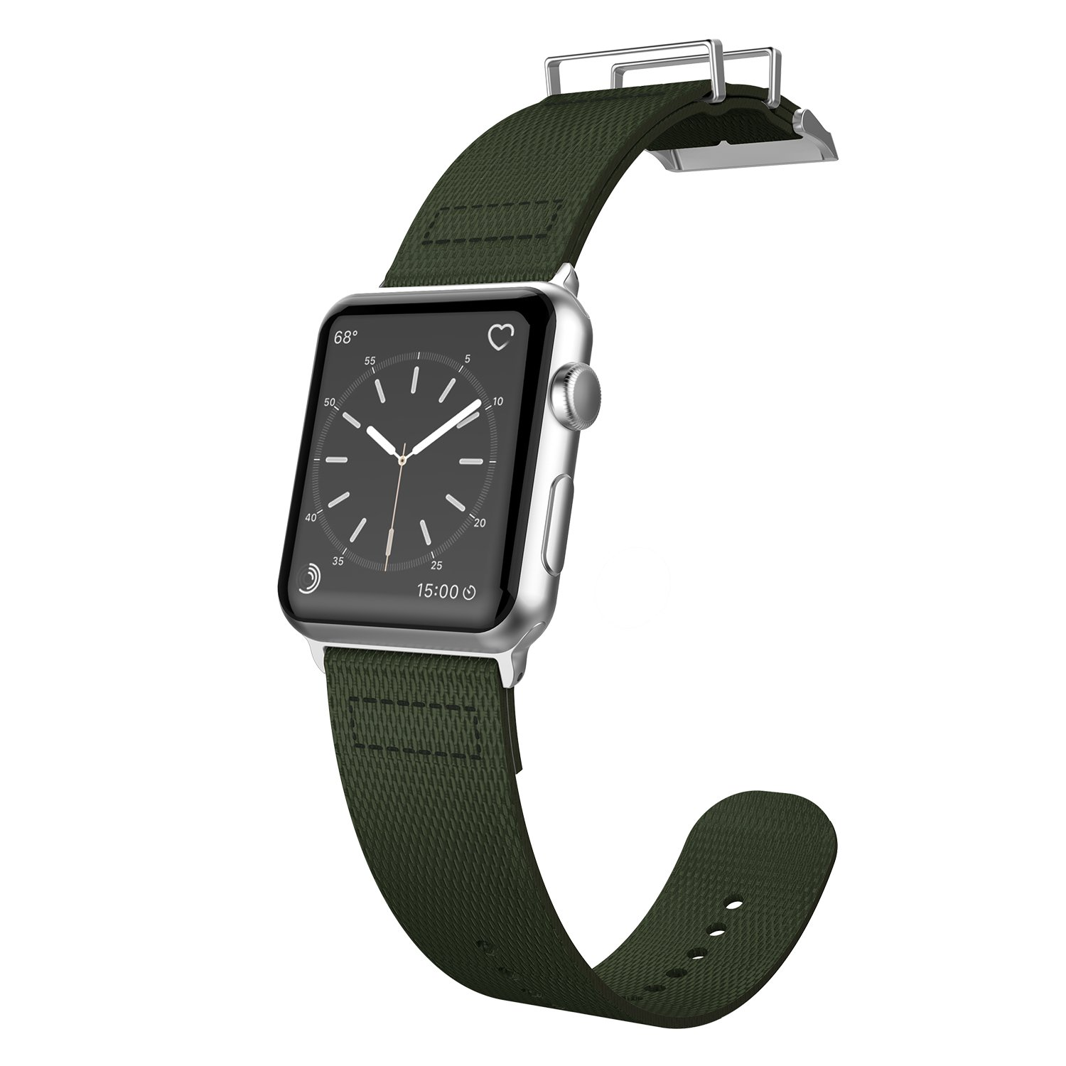 42mm Apple Watch Replacement Band, X-Doria Field Series - Compatible with Apple Watch Series 1, Series 2, Series 3 and Nike+, [Olive]