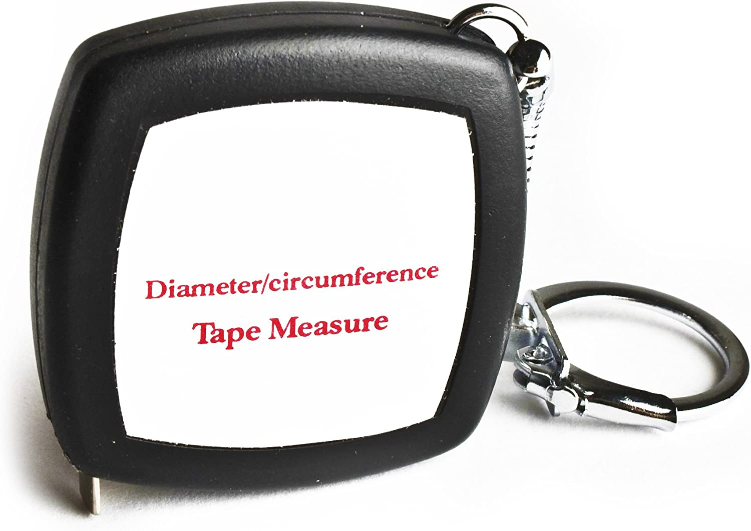 Pocket Precision Diameter Circumference Tape Measure and Layout Pocket Rule - 6.6ft / 2m