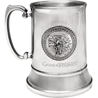 Dark Horse Deluxe Game of Thrones Stark Stainless Steel Stein