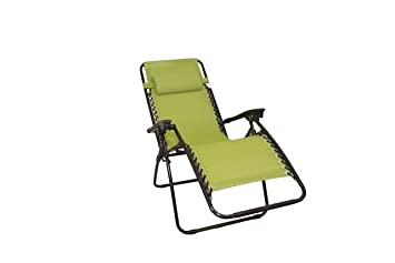 Chaise Longue Inclinable 2 Pièces Pliable Kit WH9YDE2I