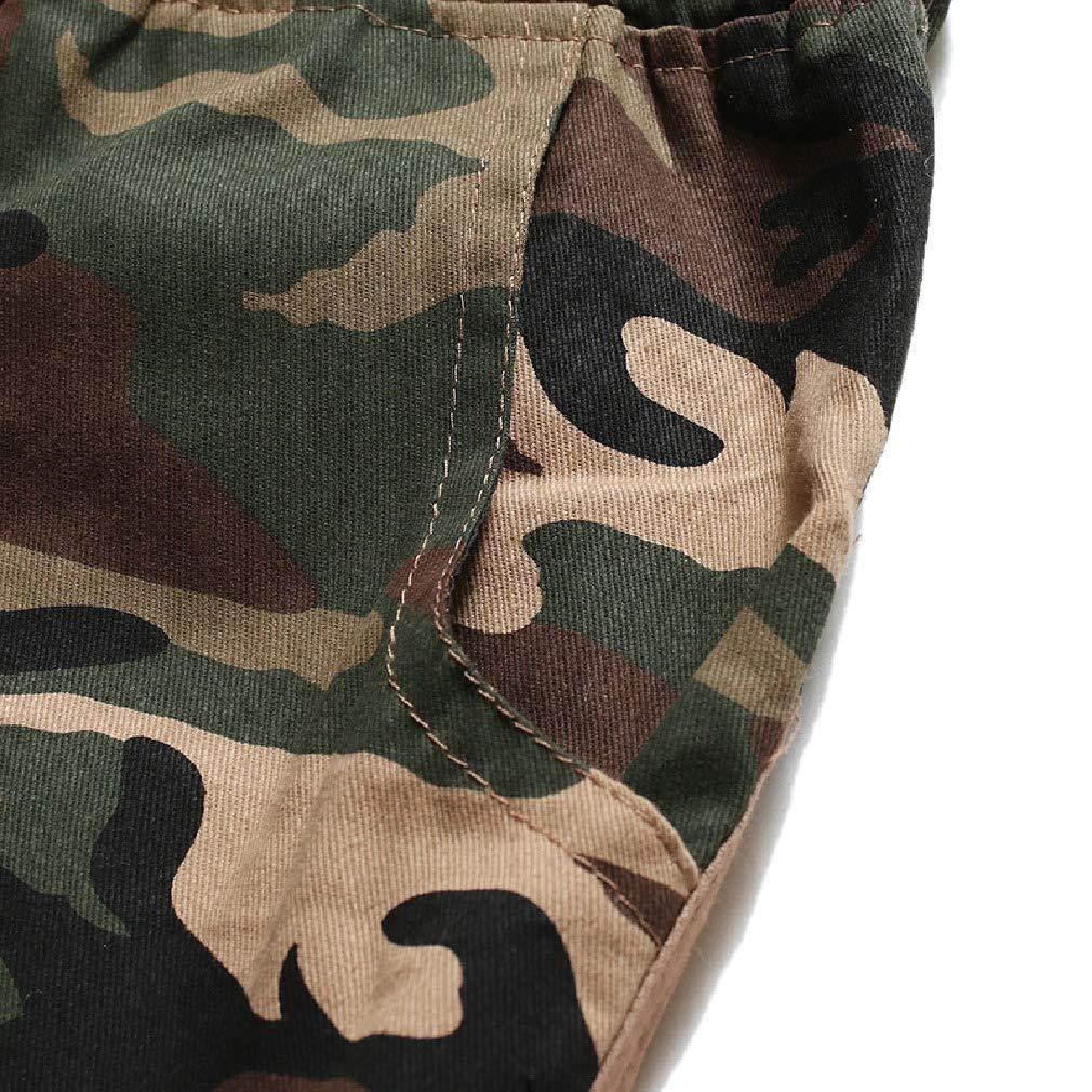 Sayah Mens Drawstring with Pocket Camouflage Simple Stitching Board Shorts