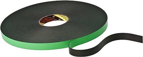 3M 9508B19 Interior y exterior 66m Acrílico, Poliuretano Negro, Verde cinta adhesiva - Cintas