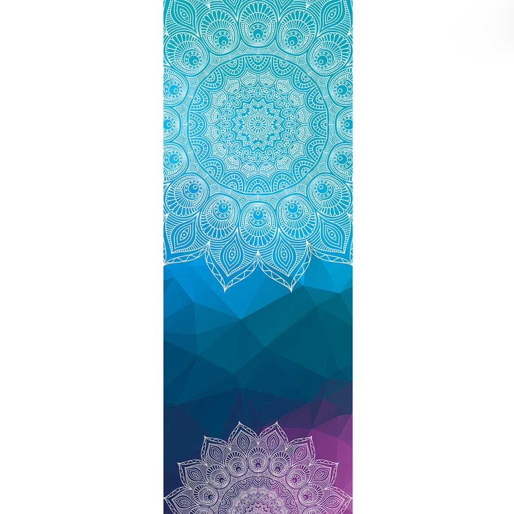 Cayuan Serviette de Yoga en Microfibre Antid/érapant Absorption de la Sueur Yoga Tapis Serviettes pour le Fitness le Yoga le Pilates