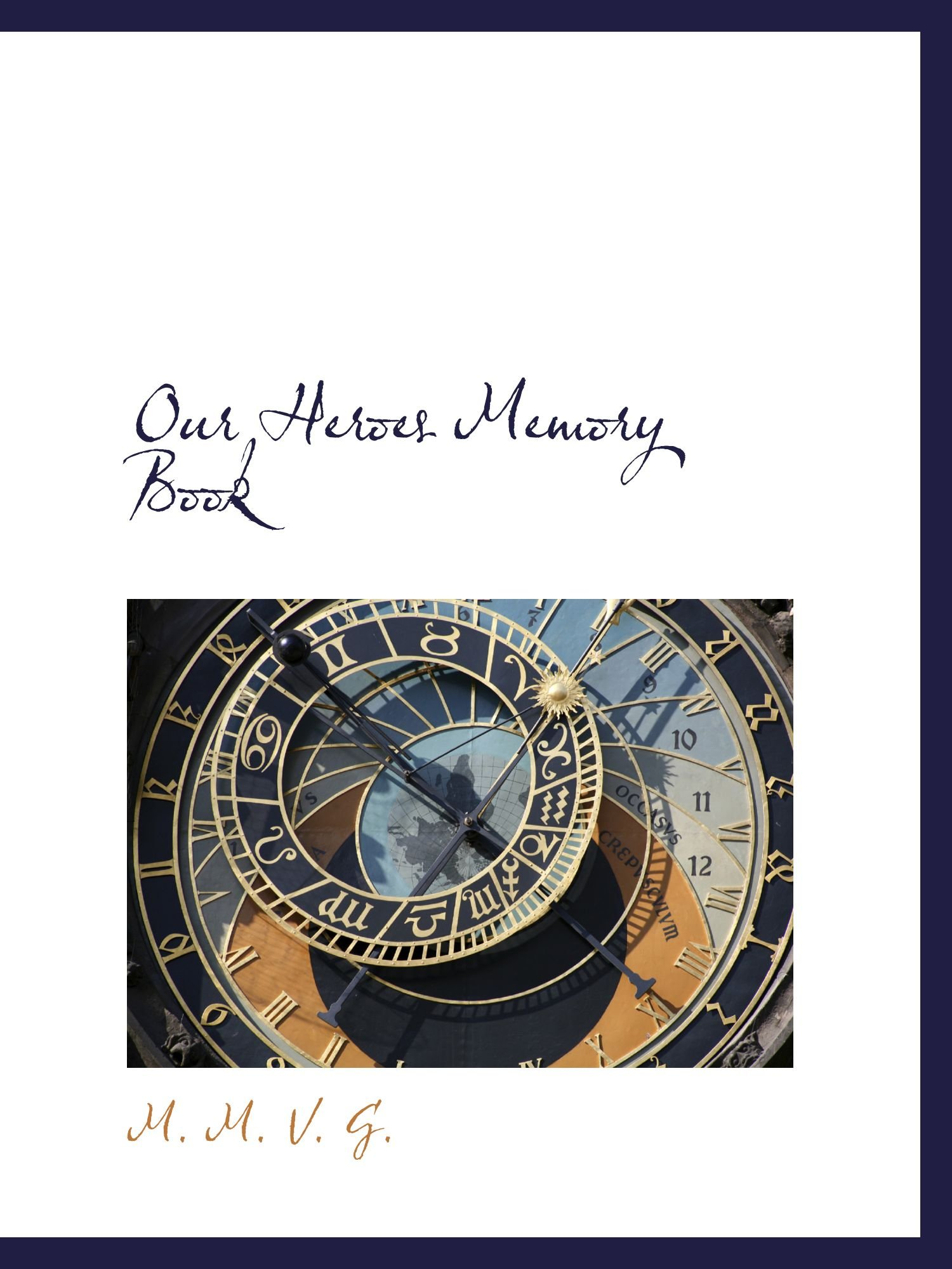 Read Online Our Heroes Memory Book PDF