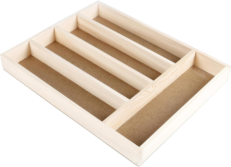 Marr/ón 28x4x36 cm Faveco Cubertero Madera