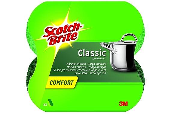 Scotch-Brite Espiral de Inox, Paquete de 3+1 x 4 (Total: 16 unidades)