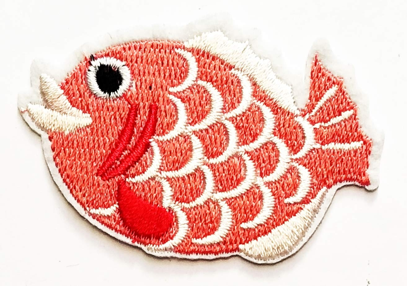 Nipitshop Patches Seafood Crab Buffet foog Crab Sea Animals Beach Cartoon Kid Embroidery Patches Sew On Patches Applique for Clothes Jackets T-Shirt Jeans Skirt Vests Scarf Hat Backpacks