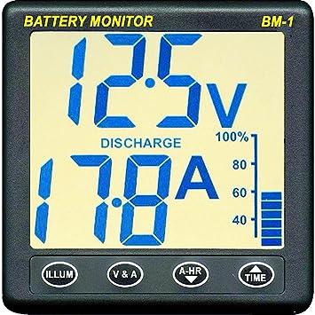 Nasa Batteriemonitor BM-1+/12 V: Amazon.de: Sport & Freizeit