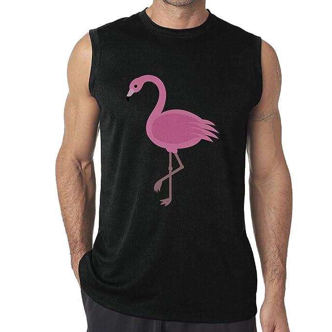 bd1b9cb9 Mens Tank Top Pink Flamingos Muscle Tank Top Shirts at Amazon Men's Clothing  store: