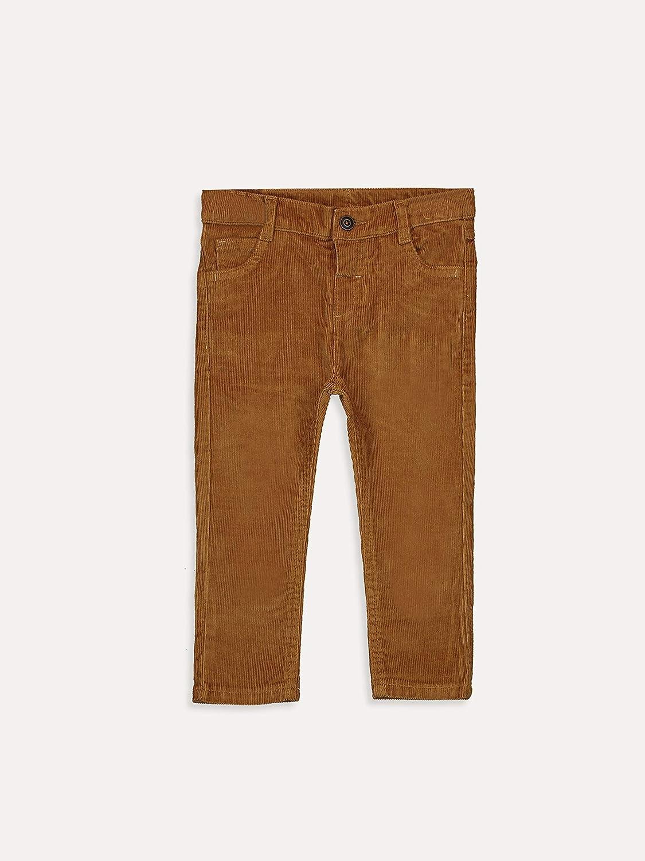 LC WAIKIKI Baby Corduroy Trousers Slim Fit for Boys