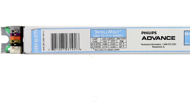 New Philips ADVANCE IZT-4S32 Mark 7 0-10V Dimming Ballast F32T8 120-277V 50//60Hz