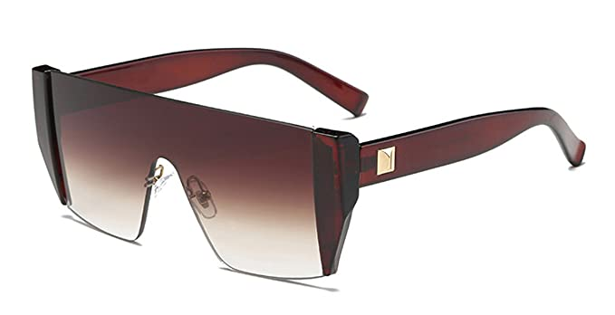 371c227e8d0 Image Unavailable. Image not available for. Color  COOCOl Square Luxury Sun  Glasses Brand Designer Ladies Shades Sunglasses Women Gold Frame ...
