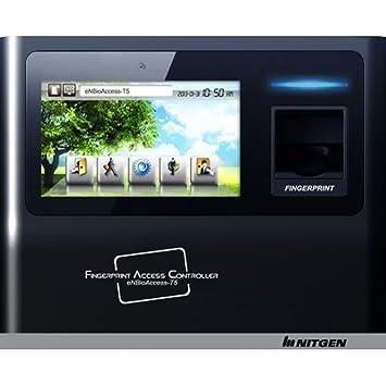 Nitgen enbioaccess-t5 sw300-m Control de acceso biométrico de huellas digitales asistencia estándar (huellas dactilares, contraseña) + de alta frecuencia ...