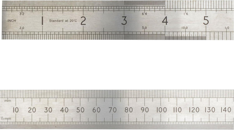 Silver Advent ASR1000 1000 mm//1 m Precision Steel Rule
