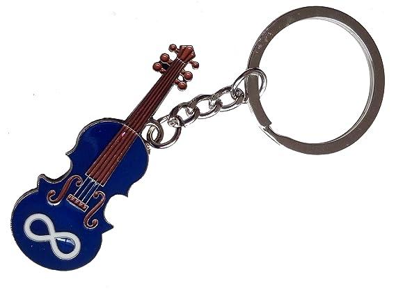 Mtis Fiddle Keychain Porte Clefs Violon Mtis Key Chains Amazon