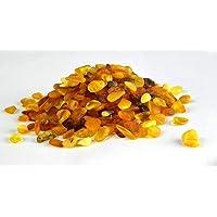 Ambra baltica pietre di ambra cultura   mix color ambra naturale, lucidato, perline per fai da te, gioielli e vernice sollievo (senza fori)