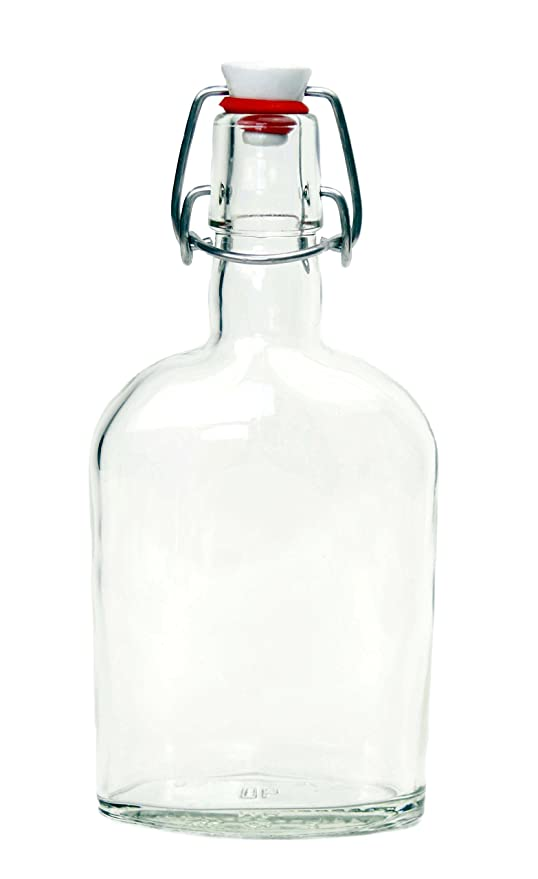 Nutleys - Lote 6 Botellas de Vidrio con Cierre de Estribo ...