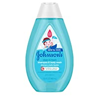 Johnson's Clean & Fresh Tear-Free Children's Shampoo & Body Wash, Paraben-, Sulfate...