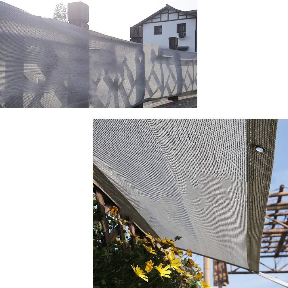 Mehrere Gr/ö/ßen GAOFENG Sonnenschutznetz Gartenhaus Balkon Carport Verschl/üsselt Eingedickter Atmungsaktiver Sonnenschutz