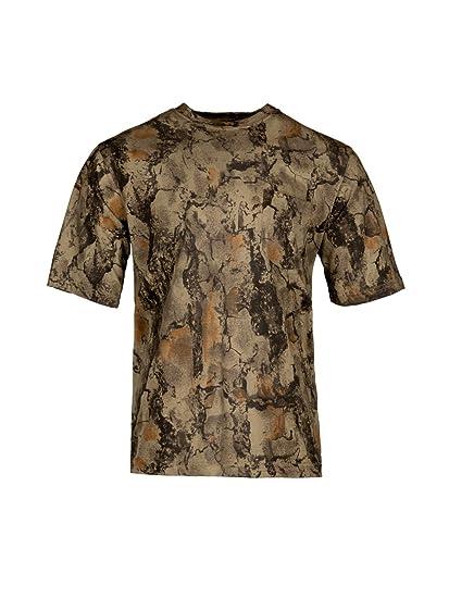 f19929e450573 Natural Gear Short Sleeve Camo T-Shirt, Tagless and Preshrunk Lightweight  Shirt for Women
