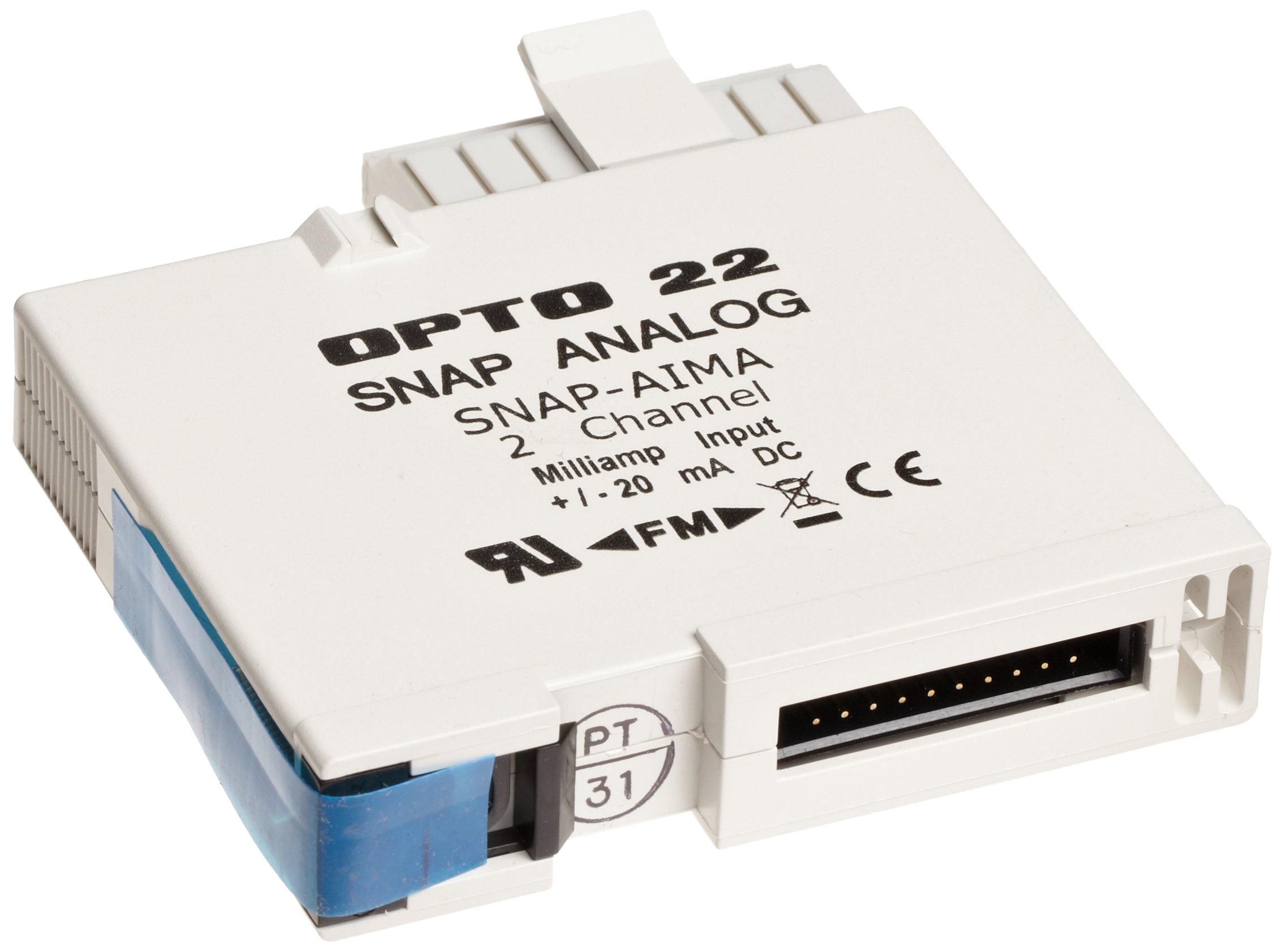 Opto 22 SNAP-AIMA - SNAP Analog Current Input Module, 2-Channel, -20mA to +20mA Input