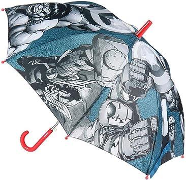 Color Azul 2400000537/_T45C-C56 CERD/Á LIFES LITTLE MOMENTS Paraguas Autom/ático Infantil Heroes Licencia Oficial Marvel