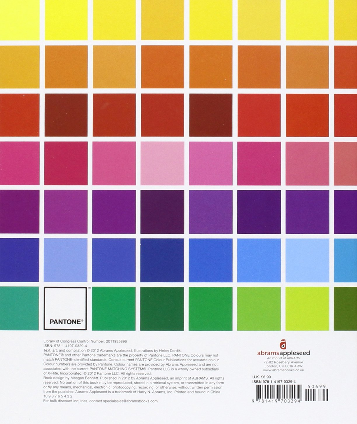 Pantone Colours Amazoncouk Pantone LLC 9781419703294 Books