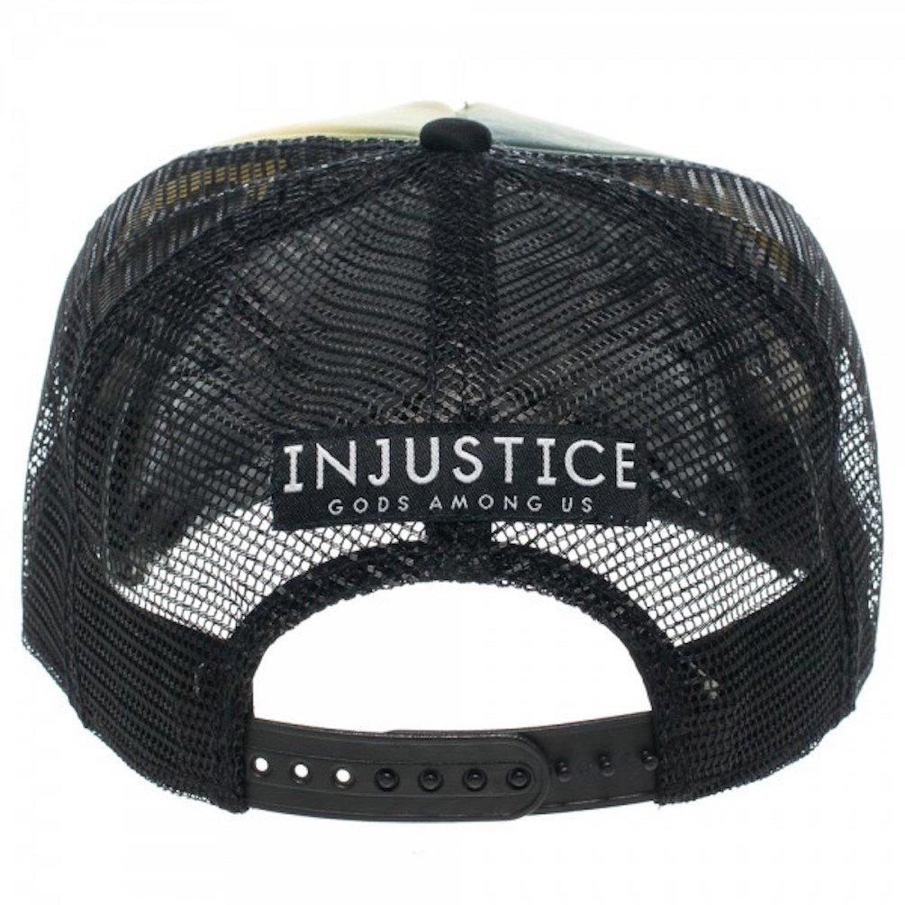 DC Comics Injustice Batman Vs. Superman Full Print Trucker Baseball Cap Hat   Amazon.in  Clothing   Accessories 2903edd0a7f