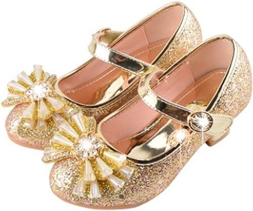 YOGLY Niñas Zapatos de Tacon Disfraz de Princesa Niña