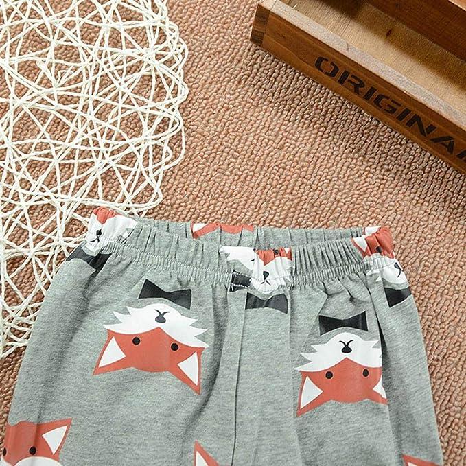 Amazon.com: SRYSHKR Newborn Baby Girls Clothes Set Fox Print Long ...