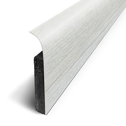 Lote 3M de 5 zócalos adhesivos 120 x 70 cm, blanco, D180514D