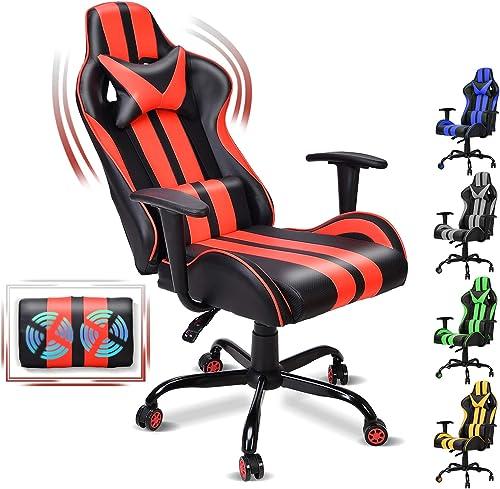 FERGHANA Ergonomic Racing Style PC Computer Chair