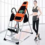 Foldable Gravity Inversion Table Exercise Premium Back Therapy Fitness Reflexology 150KG