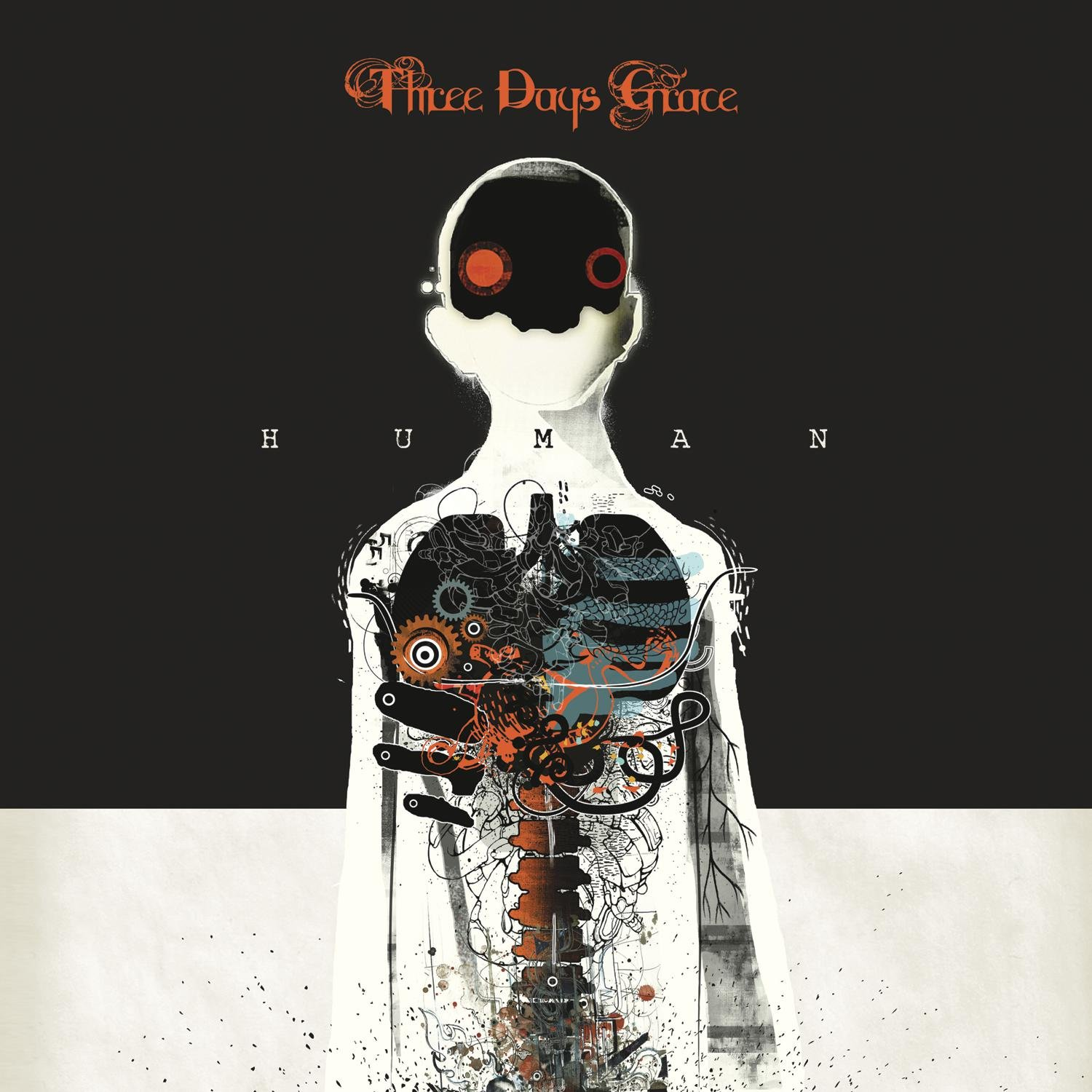 Vinilo : Three Days Grace - Human (Digital Download Card)
